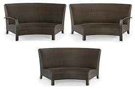 curved outdoor sofa furniture u2013 home designing