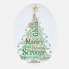 a christmas carol christmas ornament cafepress