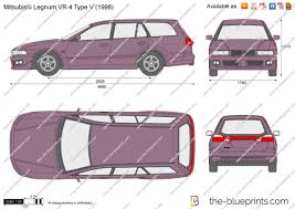 mitsubishi legnum the blueprints com vector drawing mitsubishi legnum vr 4 type v