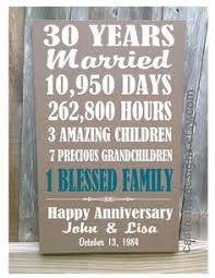 50th anniversary gift ideas for parents our family personalized home decor wood blocks family
