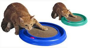 Cardboard Scratchers For Cats Bergan Turboscratcher Cat Toy Assorted Walmart Com