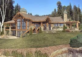 wisconsin log homes grayson peak home plan