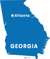 Georgia Map With Cities Georgia Map Blank Political Georgia Map With Cities