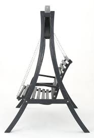 brandi outdoor wood porch swing with stand u0026 reviews joss u0026 main