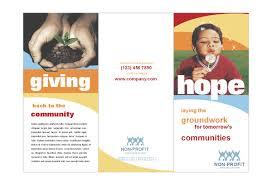 ngo brochure templates non profit brochure brickhost 13d1d985bc37