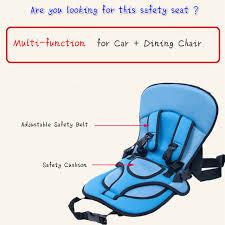 coussin pour siege auto bebe portable voyage bébé enfant de voiture siège de sécurité pour