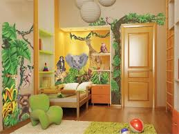 chambre jungle enfant deco chambre jungle cool tendance dco jungle maisons du
