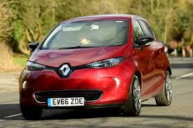 renault zoe car review renault zoe dynamique nav q90 z e 40 london evening