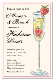 mimosa brunch invitations wedding brunch invitations unique mimosa strawberry not