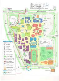 Stevens Campus Map De Anza Campus Map De Anza College Campus Map Home