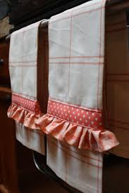 kitchen towel craft ideas ruffled kitchen towels for great grandma home is where my story
