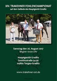 Pferdezentrum Bad Saarow Calaméo Xiv Trakehner Fohlenchampionat Graditz 2017
