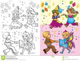 children in christmas carnival costumes stock image image 35583381