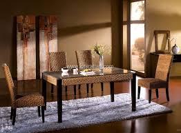 Rattan Dining Room SetsRattan Dining TableRattan Side Chair - Rattan dining room set