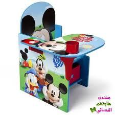 bureau enfant mickey épinglé par hiba sur chaise table pouffe pour enfant