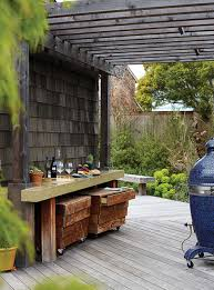 Deck Garden Ideas Outdoor Backyard Deck With Wooden Pergola Decor 20 Cozy