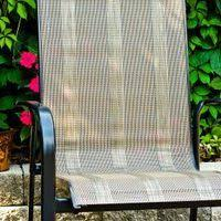 Patio Chair Repair Mesh How To Sew Replacement Slings For Patio Chairs Patios And Fabrics