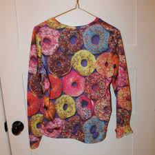 46 rue21 sweaters donut sweatshirt from bryce s closet on
