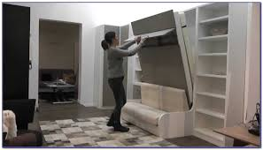 Lit Escamotable Plafond Armoire Lit Escamotable Avec Canape Pas Cher Lit Escamotable