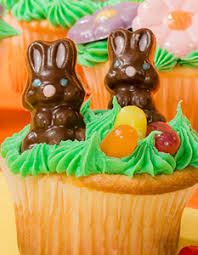 easter bunny candy easter cupcakes with candy minis and jelly beans inspired home