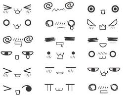 how to draw doodle faces simple expressions how to draw kawaii pineapple