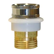 shop danco brass dishwasher adapter at lowes com