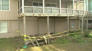 deteriorating nails blamed for north carolina deck collapse