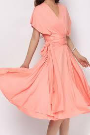 Light Pink Short Bridesmaid Dresses Light Coral Short Infinity Dress Convertible Bridesmaid Dress St