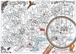 Cool Maps Cool London Map Deboomfotografie