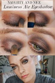 day to night eye makeup with luminess air citizens of beauty