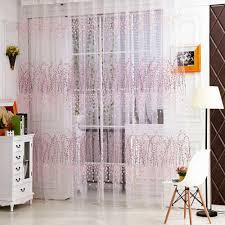 online get cheap flower curtain transparent aliexpress com