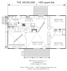 floor plans for log homes log home floor plan the woodland 1400 square by b h cedar