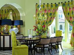 Lime Green Dining Room Shades Of Green A Verdant Decorating Palette