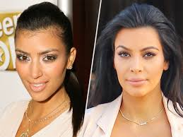 lady neck hair kim kardashian on hair removal i had such a hairy neck people com