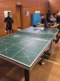 Table Tennis Meeting Table Paul Deightonttc