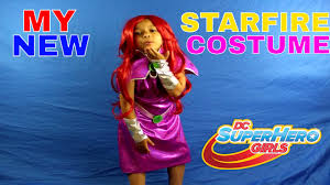 starfire costume my new starfire costume dc