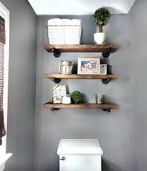 Decorate Bathroom Shelves Industrial Bathroom Decor Ideas Of Me Industrial