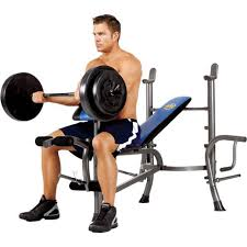 Weider Pro 240 Weight Bench Marcy Standard Weight Bench With 80 Lb Weight Set Academy
