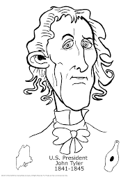 coloring pages of presidents list of presidents coloring
