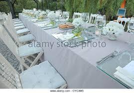 Wedding Table Set Up Catering Setup Wedding Reception Stock Photos U0026 Catering Setup