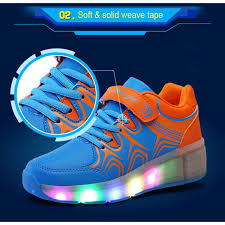 Kids Light Up Shoes Quality Cool Kids Boy Black Led Light Up Shoes For Sale