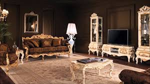 classic living room luxury interior design and salon home decor of
