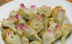cuisiner les artichauts violets en images comment utiliser l artichaut petit violet cuisinons