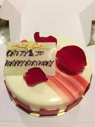 nice delicious birthday cake rose favor picture