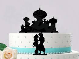aladdin jasmine wedding cake topper disneywedding disney