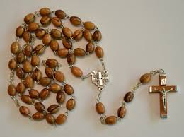 olive wood rosary oval bead olivewood rosary jerusalem cross for centerpiece