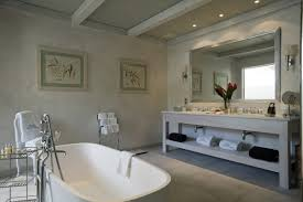 bath in a boutique hotel this bathroom set in a chic boutique