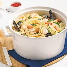 fettucines aux fruits de mer et fenouil recettes cuisine et
