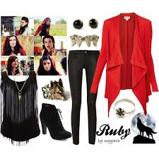 Costumes Halloween Ruby Red Riding Hood Wolf Character