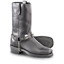 black motorbike boots men u0027s dingo 11